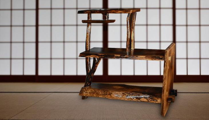 茶棚 杉(135×130cm)
